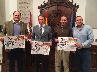 Las calles de la Ciudad del Sol acogerán el domingo 25 de noviembre la XXXI edición de la Media Maratón Internacional ''Ciudad de Lorca'' y los VIII 12.280 Metros Saludables