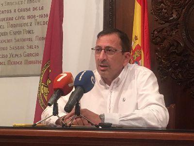 El Ayuntamiento de Lorca reitera que seguirá reclamando la mejora del servicio de trenes tras la avería, este pasado sábado, en uno de los vagones de los cercanías Lorca-Águilas