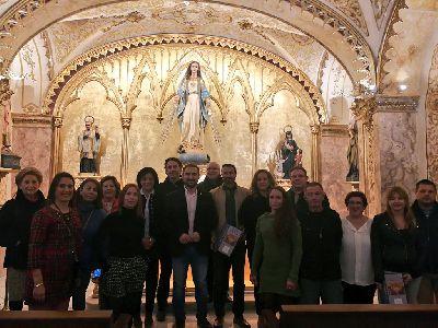 El Ayuntamiento de Lorca finaliza los trabajos de rehabilitación de la Capilla de la Virgen Milagrosa del Colegio San Francisco de Asís
