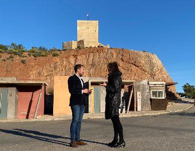 El Ayuntamiento de Lorca abrirá al público los aseos ubicados en el parking de Los Pilones, a los pies del castillo