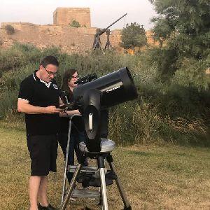 El Castillo de Lorca acogerá la observación de ''Las estrellas del cielo de verano'' este jueves, 12 de agosto