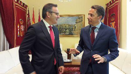 El Alcalde de Lorca expone al Delegado del Gobierno la necesidad de mantener en 2019 la bonificación del 50% del IBI a los afectados por los terremotos