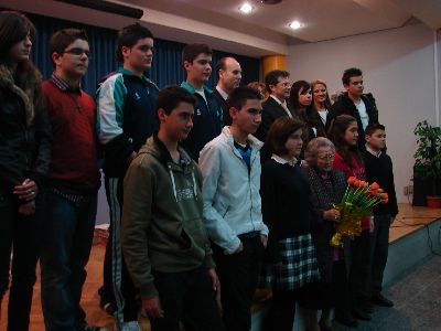 El Alcalde de Lorca entrega los II Premios Ángeles Pascual de narración para educación secundaria