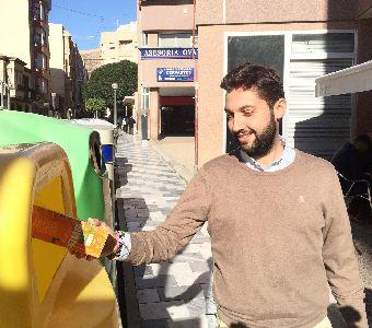 El Ayuntamiento instala más de 200 nuevos contenedores de reciclaje en distintos puntos del municipio para facilitar la recogida selectiva de residuos domésticos
