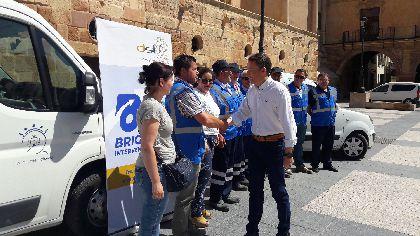 El Ayuntamiento crea una Brigada de Intervención Rápida para reparar daños ocasionados en calles o mobiliario urbano de todo nuestro municipio