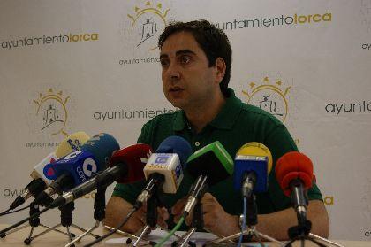 La cuenta oficial del Ayuntamiento de Lorca en Twitter supera los 4.260 seguidores y la de Facebook los 3.100 ''me gusta''