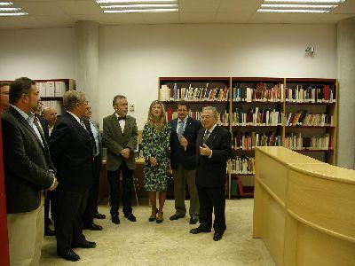 El nuevo Archivo Municipal de Lorca cuenta con 10 kilómetros de espacio para almacenar documentos y ha supuesto una inversión superior a los 3,5 millones de euros