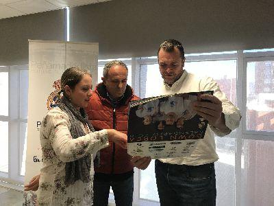 La Asociación Down Lorca edita por 5º año consecutivo su calendario solidario con la participación de miembros de la Peña Madridista ''Ciudad del Sol''