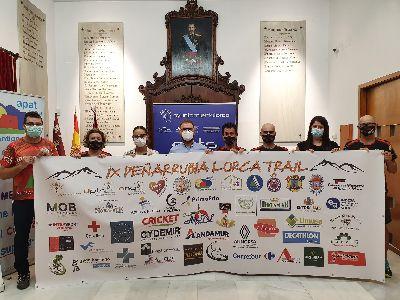 La IX Peñarrubia Lorca Trail, que se celebrará este próximo 12 de septiembre, cuenta ya con más de 400 inscritos