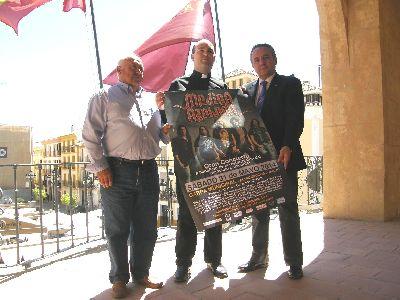Medina Azahara ofrecerá el sábado 31 de mayo un concierto en Almendricos a beneficio de la restauración del complejo parroquial