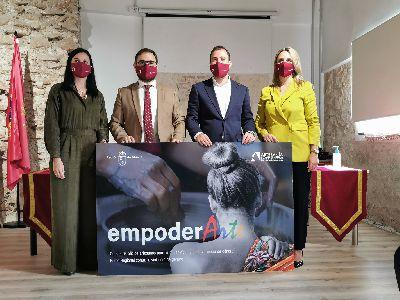 El proyecto 'Empoder-Arte' permitirá la formación y empoderamiento de mujeres lorquinas en situación de vulnerabilidad