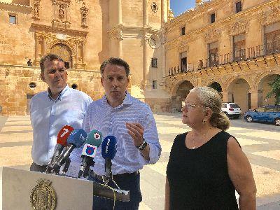 El Ayuntamiento de Lorca pondrá en marcha una serie de medidas para solicitar que se mantenga la bonificación del 50% del IBI en 2018