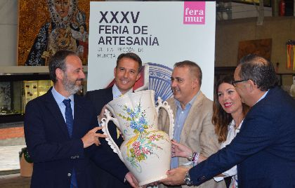 Más de medio centenar de demostraciones, talleres y degustaciones completan la oferta de la Feria Regional de Artesanía en Lorca