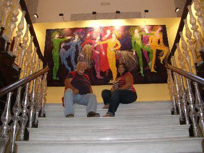 Huerto Ruano acoge la exposición ''El paisaje. Distintas épocas y distintos estilos'', del pintor aguileño Manuel Coronado