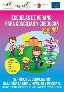 Imagen de Más de un centenar de niños y niñas participarán del 16 al 31 de julio en una nueva edición de las Escuelas de Verano para conciliar y coeducar