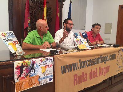 La Asociaci�n Lorca-Santiago recorrer� 283 kil�metros en la ''Running Nonstop'' entre Lorca y Ruidera promocionando la Ruta del Argar