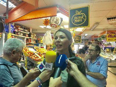 El Ayuntamiento anima a los lorquinos a participar en la iniciativa ''Mi plaza + solidaria'' que tendrá lugar el 17 de octubre en la Plaza de Abastos