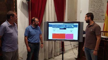 Más de 129.000 usuarios visitaron 670.000 páginas de la web municipal, www.lorca.es, durante el primer semestre del año