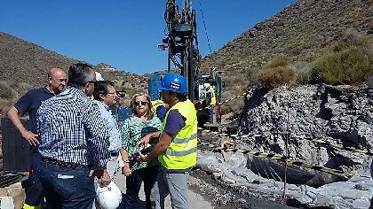 Un nuevo proyecto de investigaci�n analiza los tramos de falla geol�gica entre G��ar y Alhama, a trav�s de un sondeo vertical de 250 metros en la rambla de Torrecilla