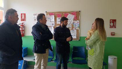 El Centro de Atención a la Infancia de La Paca, que ha contado con una inversión de 326.320,91 euros, mejora sus instalaciones para atender a los vecinos de las pedanías altas