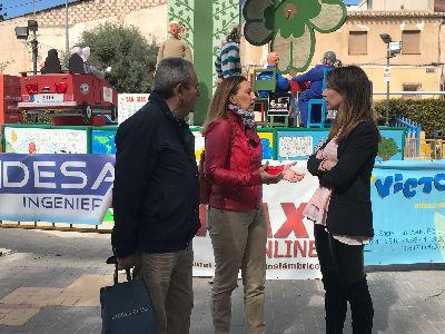 El Parque de San José acogerá hasta el lunes la II Feria Outlet organizada por el Ayuntamiento y los comerciantes de esta zona con motivo de sus fiestas patronales