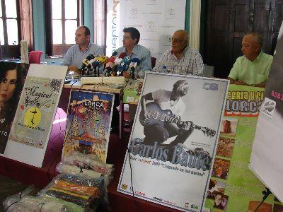 El Ayuntamiento de Lorca inicia mañana el reparto de 7.000 jarapas lorquinas junto con los 15.000 programas de la Feria Grande, que incluyen más de 50 actos