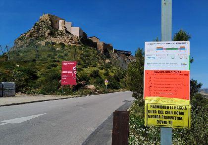 El Ayuntamiento cierra los accesos al Cejo ya que su singularidad no permite cumplir con las distancias de seguridad