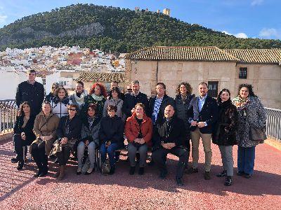 Lorca participa, como miembro de pleno derecho, en la 53 Asamblea General de la Red de Juderías, que se ha celebrado los días 11 y 12 de diciembre en Jaén