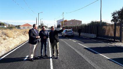 64 kilómetros de la red local de comunicaciones, 6 parques de pedanías, además de colegios y locales sociales, se benefician de obras de mejora por un importe de 3 millones de euros