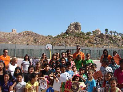 Clausurada la Escuela de Verano de los Barrios Altos donde han participado más de 75 niños