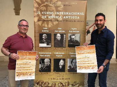 El Palacio de Guevara, la Iglesia de San Francisco y la Capilla del Rosario acogerán los conciertos del II Curso Internacional de Música Antigua de Lorca