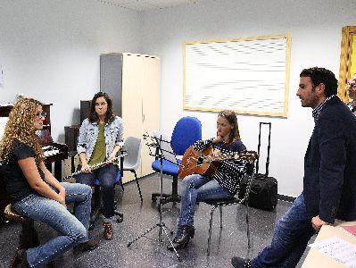 La Escuela Municipal de Música de Lorca bate su récord con 404 alumnos, un 7% más que en 2014