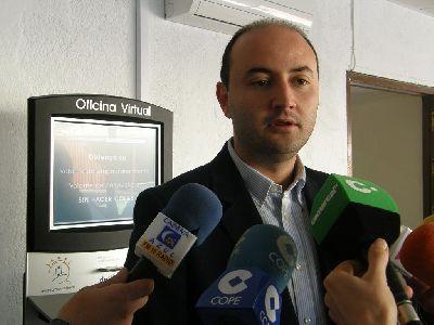El Ayuntamiento de Lorca instalará cinco puntos de acceso a la  información de los servicios electrónicos municipales