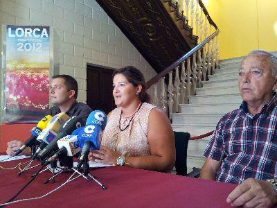 Una obra de Sergio Porlán promocionará la Feria y Fiestas de Lorca por las provincias de Murcia y Almería