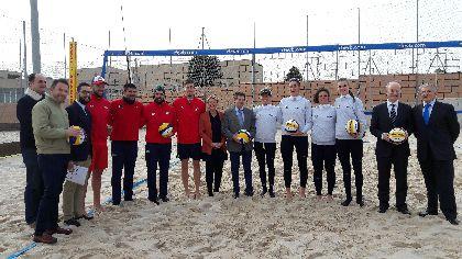 Lorca obtiene 500.000 € de la CARM para ampliar el Centro de Tecnificación Deportiva de Voley Playa construyendo una nueva fase para la residencia de deportistas