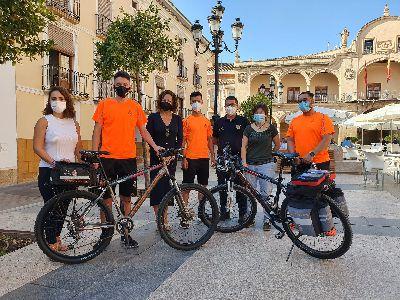 El Servicio de Emergencias y Protección Civil de Lorca pone en marcha la Unidad en Bicicleta