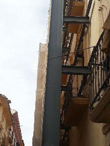 El Ayuntamiento de Lorca da la licencia de reconstrucci�n de otro edificio de de viviendas con fachada protegida, que tuvo que ser demolido por los da�os de los se�smos