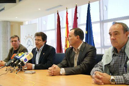 El Colegio de Ingenieros Técnicos de Obras Públicas arreglará la estructura de la Biblioteca Municipal Pilar Barnés de Lorca, dañada por los seísmos