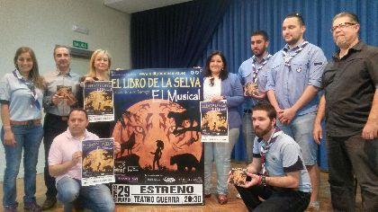Lorca acoge el estreno del musical ''El Libro de la Selva'' producido por la Compañía Pepe Ferrer en colaboración con el Ayuntamiento