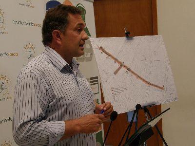La Junta de Gobierno adjudica las obras de mejora integral de la calle Álamo, que serán realizadas por una empresa lorquina