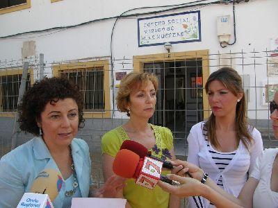 El Ayuntamiento de Lorca entrega durante esta misma mañana las llaves del nuevo local social de Virgen de las Huertas a los diferentes colectivos