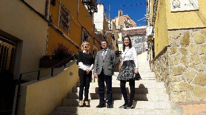 Los vecinos de San Pedro se benefician de una inversión de 243.000 euros de la CARM para mejorar el acceso peatonal al barrio