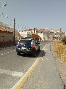 La Policía Local localiza e identifica a dos personas por un robo con fuerza en el interior de una empresa lorquina