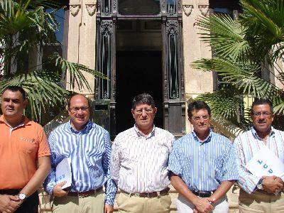 Los alcaldes de la Comarca del Guadalentin visitan el Campus Universitario de Lorca