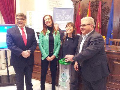 Tragamóvil plantará 3.000 árboles en cuatro hectáreas de alto valor ecológico en Lorca, gracias a la recogida de móviles en desuso en 26 puntos de recogida instalados en el municipio
