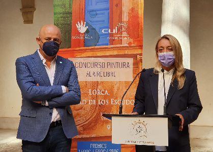 Ayuntamiento y Lorquimur colaboran en el I Concurso de Pintura Rápida al Aire Libre ''Lorca, Ciudad de los Escudos''