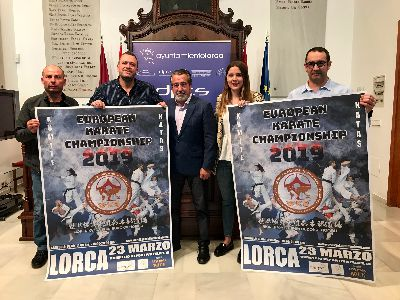 Lorca reunirá este sábado a varios campeones de Europa y del mundo en el 3er Campeonato Europeo de Kárate World Kyokushin Budokai