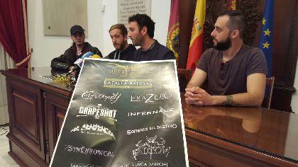8 bandas se darán cita este sábado en la Sala Silos, dentro de lo que será tercera Batalla de Bandas de Metal Lorca 2016