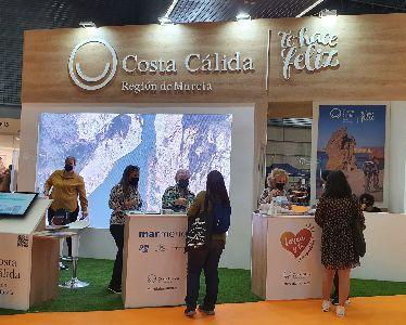 La concejalía de Turismo muestra la oferta turística de Lorca en la Feria de Turismo de Bilbao ''Expovacaciones'' 2021