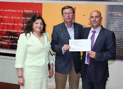 La Confederación Española de Sociedades Musicales dona 17.455 ? para ayudar a la rehabilitación del Conservatorio de Música de Lorca dañado por los seísmos